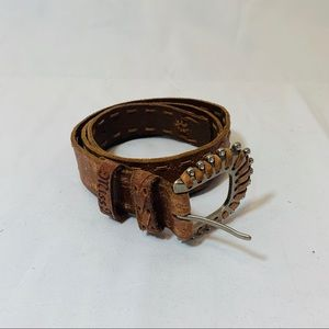 Miss Me Leather Belt